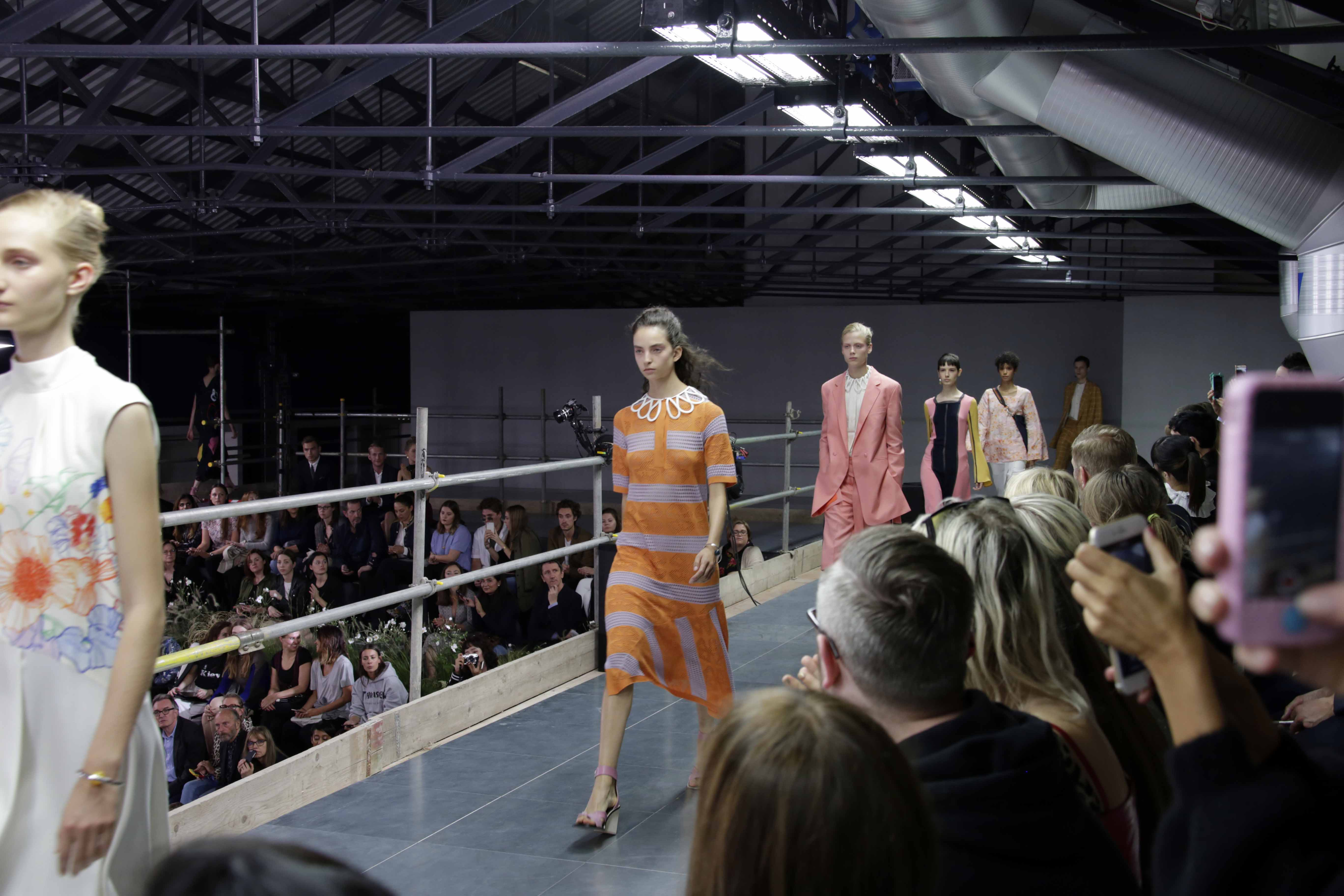 Paul Smith's SS17 Collection: an ever new take on his legacy stripes, flower prints and femininity